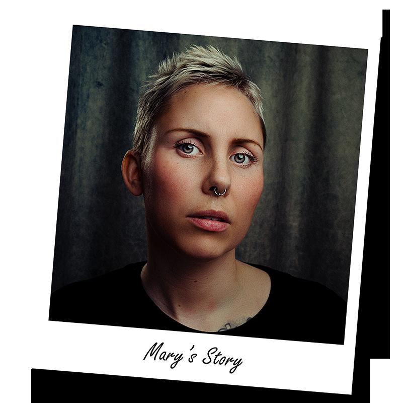 polaroid Mary